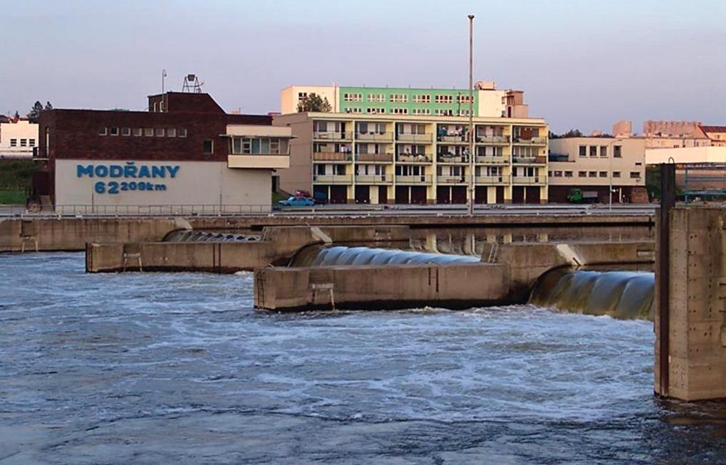 Malá vodní elektrárna Modřany